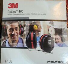 3M Peltor Optime 105 Behind-the-Head Earmuff with Neckband (H10B)