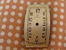 SUBLIME CADRAN DIAL TONNEAU OMEGA ANNÉES 20 ART DÉCO 13,6 X 23,9 mm