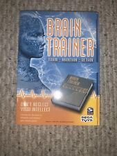 Sega Toys Brain Trainer Spin Master Exercise Test Prefrontal Cortex Memory Focus