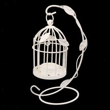 Black/White Birdcage Lantern Shape Wedding Tabletop Candle Tea Light Holders