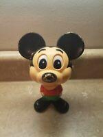 Vintage Mattel Walt Disney Mickey Mouse Pull String Talking Toy 1976- WORKS
