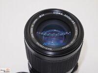 Minolta MD/MC Telezoom Objektiv Sigma Zoom 60-200 mm 4-5,6 Macro für SLR Kamera