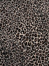 Cotton Twill Cheetah Animal Print 54