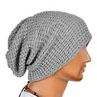 Unisex Beanie Women Mens Knitted Knit Warm Ski Crochet Slouch Baggy Ski Hat Cap