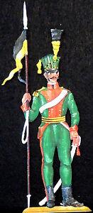 Ulan mit Lanze um 1809 - Österreichische Kavallerie - Zinnfigur 90mm handbemalt