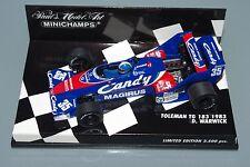 Minichamps F1 1/43 la TOLEMAN TG 183 CANDY - 1983-Derek WARWICK