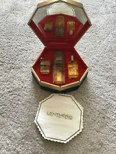 Tweed Lentheric- rare Perfume Gift Set Cantilever box Mirror
