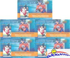 (5) 2016/17 Upper Deck Series 1 Hockey SPECIAL Sealed Box-5 JUMBO YOUNG GUN