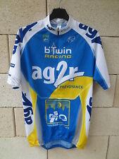 Maillot cycliste AG2R B'TWIN RACING Tour France 2006 camiseta shirt MOREAU XL