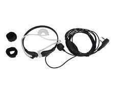 New Throat Mic Earpiece Headset Headphone PTT Baofeng UV-5R Kenwood 2-pin Type
