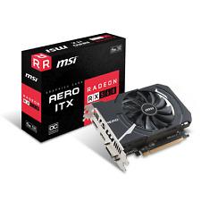 MSI AMD Radeon RX 560 AERO OC 4GB GDDR5 ITX Grafikkarte DVI/DP/HDMI