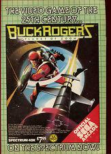 Buck Rogers Planeta De Zoom, nos Oro, espectro, 1985 revista anuncio #17863