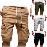 Summer Men's Casual Comfy Shorts Baggy Gym Sport Jogger Sweat Shorts Pants