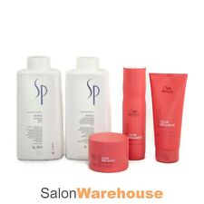 Wella SP System Professional REPAIR SHAMPOO And CONDITIONER  Litre + INVIGO TRIO