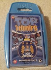 TOP TRUMPS - PREMIER LEAGUE FOOTBALL EDITION MANCHESTER CITY 2014/15 NEW  SEALED