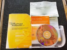 MS Project Professional 2007, Retail Vollversion, Deutsch mit MwSt-Rechnung