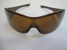 Oakley Riddle Brown Sunglasses With Hard Case EUC