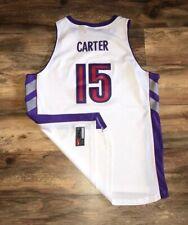 Toronto Raptors Vince Carter Vintage Nike Swingman NBA Basketball Jersey XXL 2XL