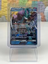 SHIPS SAME DAY Pokemon TCG SM 60/214 Suicune GX Holofoil Rare Card LP/NM
