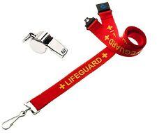 20mm Lifeguard Lanyard with Safety Breakaway & Whistle  - Free Shiping UK