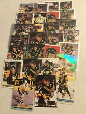 Mario Lemieux Pittsburgh Penguins 25 card lot upper deck leaf o-pee-chee spx