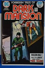 FORBIDDEN TALES OF DARK MANSION # 14 : FINE+ : JAN 1974 : DC COMICS.