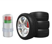 HOT!! 4PCS Car Auto Tire Pressure Monitor Valve Stem Caps Sensor Indicator Alert