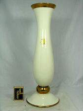 "Große , formschöne 60er Jahre Design Lindner Porzellan Vase  "" Rheingold "" 35 cm"