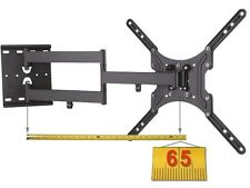 Monitor Mount Wall Bracket 65 cm Extractable TV LCD AB VESA 100 Pivoting