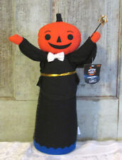 Hyde and EEK Target Halloween Felt Figure doll Pumpking Jack O Lantern Wizard LG