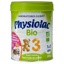 Lait infantile Physiolac Bio 3 croissance Boite de 800 grammes