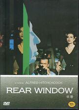 Alfred Hitchcock - Rear Window - Grace Kelly James Stewart (New) Classic Dvd