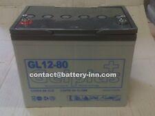 Batterie GEL 12v 80Ah Fauteuil Roulant Handicapé a décharge lente, 1300 Cycles