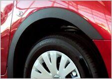 BMW 3er E36 Limousine Touring Bj 90-98 Radlaufleisten 2 Stück Vorne SCHWARZ MATT