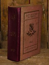 1943 Gotha Gothaisches annuaire pour la diplomatie gestion et économie 180