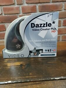 NIB. Dazzle DVC-107 Video Creator Plus HD Pinnacle USB Video Capture Device