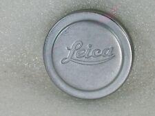 Genuine Leica Leitz Metal Front Lens Cap, 42mm Push on