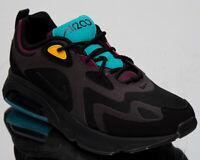 "Nike Air Max 200 ""Bordeaux"" Men's Low Black Casual Lifestyle Sneakers Shoes"