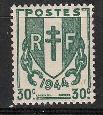 FRANCE TIMBRE NEUF N° 671 ** TYPE CHAINE BRISEES  1944