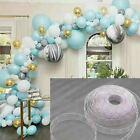 5M Ballonstreifen verbinden Kette Ballonbogen Dekor Kunststoff DIY Band Party  J