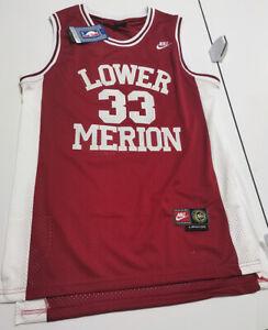 NWT Kobe Bryant #33 Lower Merion High School Men's Basketball Jersey SIZE L XL