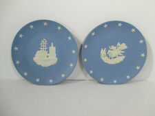 Wedgwood American Bicentennial Paul Revere Ride Boston Tea Party 2 pcs Vtg 1976