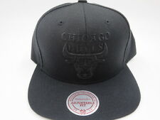 Chicago Bulls Black OG Jordan Vintage Mitchell & Ness NBA Snapback Hat Cap