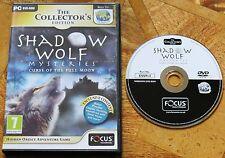 Shadow wolf mysteries: la malédiction de la pleine lune collector's edition (pc dvd-rom)