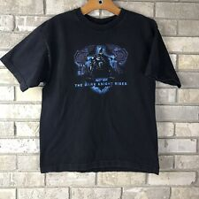 RARE Batman The Dark Knight Rises Mens LARGE Movie Film Promo T Shirt DC Comics