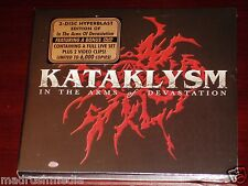 Kataklysm: In The Arms Of Devastation - Limited Edition CD + DVD Set 2007 NEW