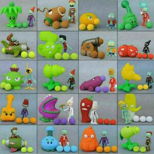 Game Plants VS Zombies Action Figure PVZ Pea Shooter & Zombie Set Kids Toy Doll