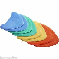 8x Velcro Microfibre Multi-Colour Cleaning Pads For Vax S86-SF-C