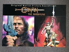 CONAN the BARBARIAN 1982 ORIGINAL SOUNDTRACK MOVIE POSTER ART RENATO CASARO