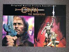 CONAN the BARBARIAN 1982 ORIGINAL SOUNDTRACK MOVIE POSTER ART RENATO CASARO